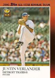 2007 Topps All Star Rookies #ASR8 Justin Verlander