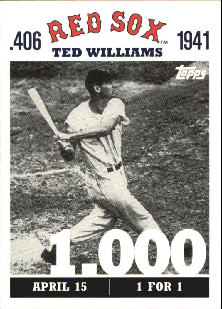 2007 Topps Williams 406 #TW1 Ted Williams