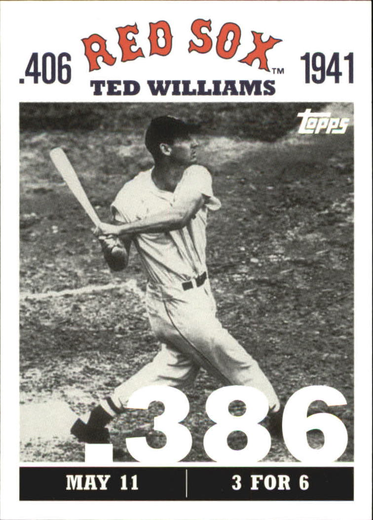 2007 Topps Williams 406 #TW6 Ted Williams