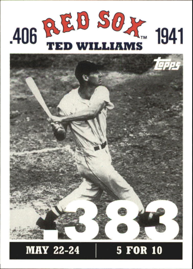 2007 Topps Williams 406 #TW9 Ted Williams