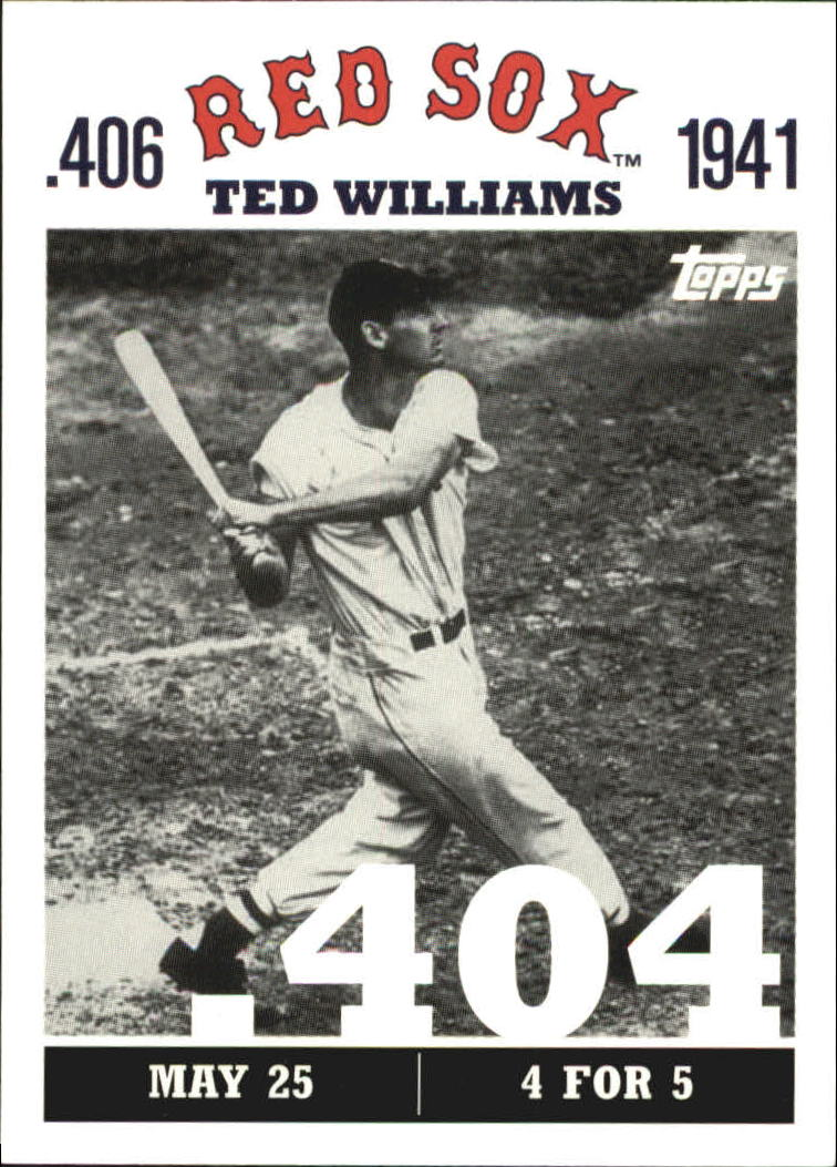 2007 Topps Williams 406 #TW10 Ted Williams