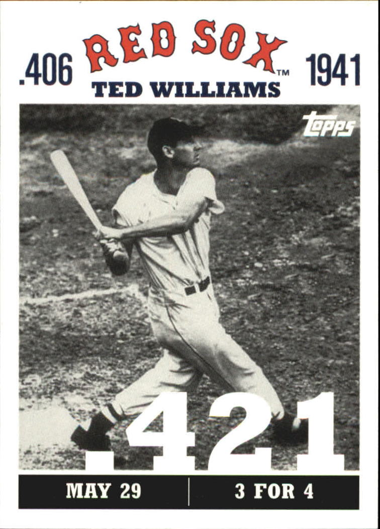 2007 Topps Williams 406 #TW12 Ted Williams