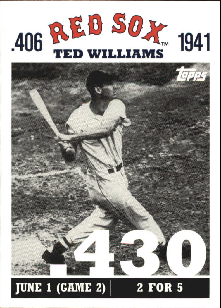 2007 Topps Williams 406 #TW15 Ted Williams