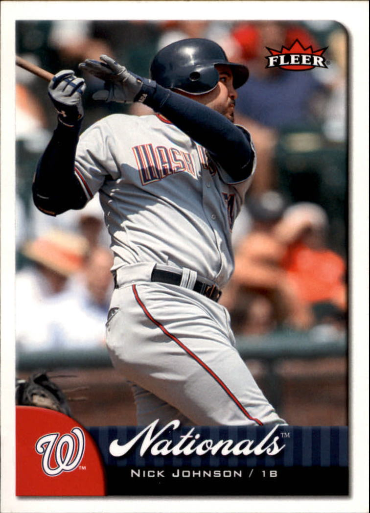2007 Fleer #3 Nick Johnson