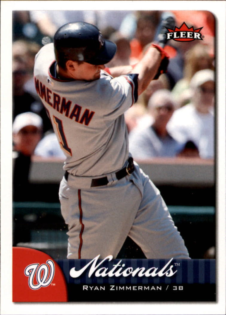 2007 Fleer #7 Ryan Zimmerman front image
