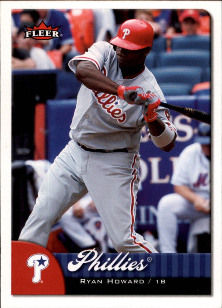 2007 Fleer #100 Ryan Howard