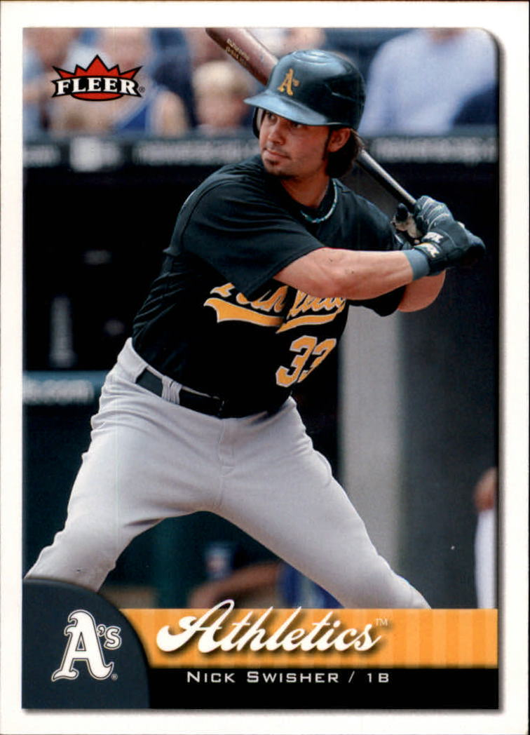 2007 Fleer #108 Nick Swisher