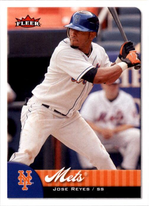 2007 Fleer #138 Jose Reyes