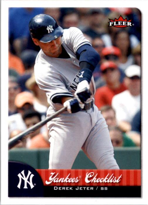 2007 Fleer #389 Derek Jeter CL