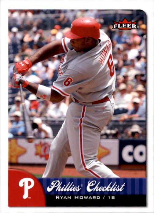2007 Fleer #391 Ryan Howard CL