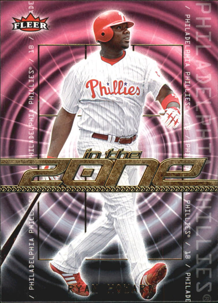 2007 Fleer In the Zone #RH Ryan Howard