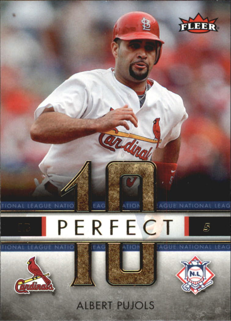 2007 Fleer Perfect 10 #AP Albert Pujols
