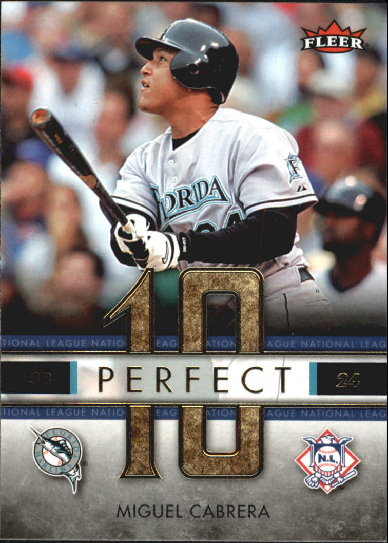 2007 Fleer Perfect 10 #MC Miguel Cabrera