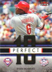 2007 Fleer Perfect 10 #RH Ryan Howard