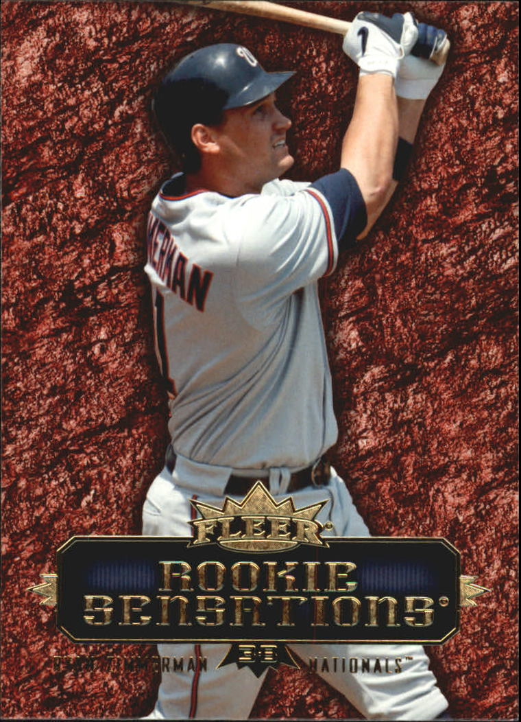 2007 Fleer Rookie Sensations #RZ Ryan Zimmerman