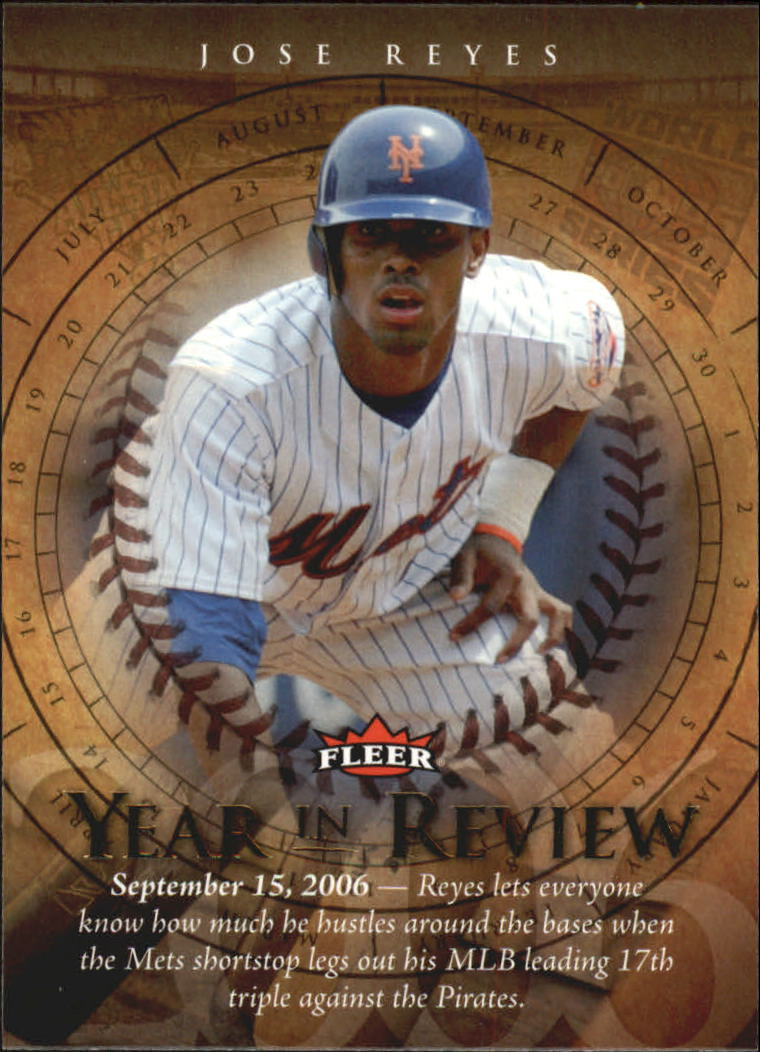 2007 Fleer Year in Review #JR Jose Reyes