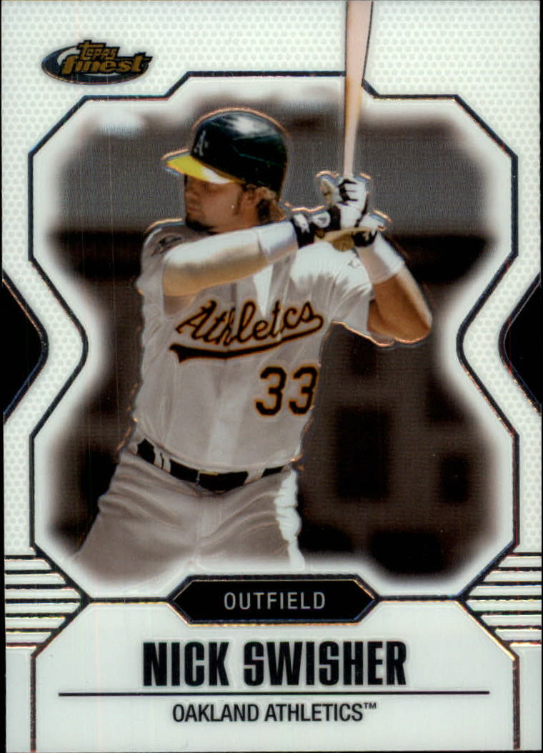 2007 Finest #63 Nick Swisher