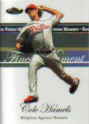 2007 Finest Rookie Finest Moments #CH Cole Hamels