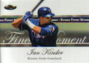 2007 Finest Rookie Finest Moments #IK Ian Kinsler