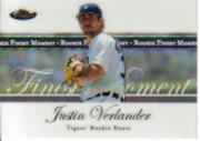 2007 Finest Rookie Finest Moments #JV Justin Verlander