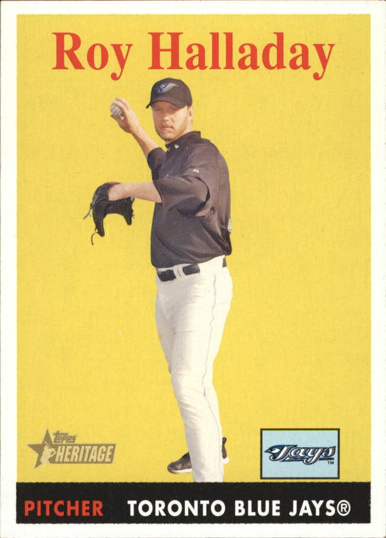 2007 Topps Heritage #118 Roy Halladay