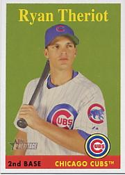 2007 Topps Heritage #78b Ryan Theriot YN