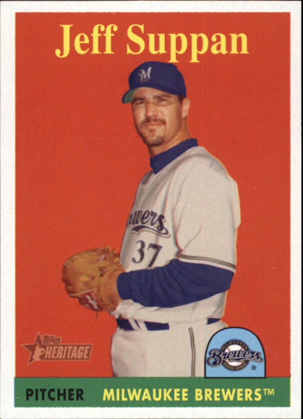 2007 Topps Heritage #97b Jeff Suppan YN