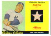 2007 Topps Heritage Clubhouse Collection Relics #JD Johnny Damon Bat C