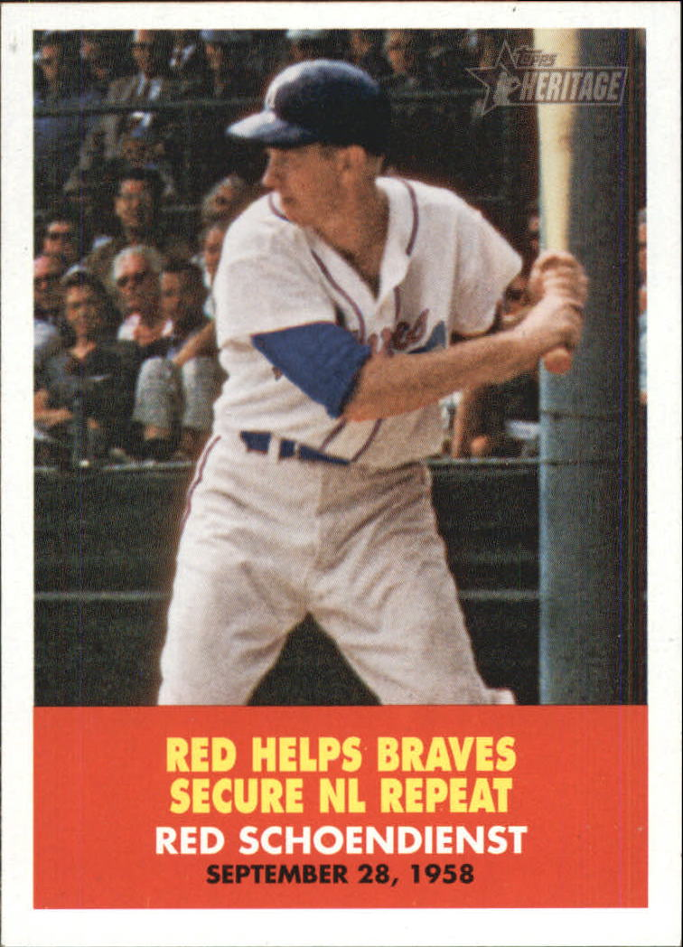2007 Topps Heritage Flashbacks #FB3 Red Schoendienst