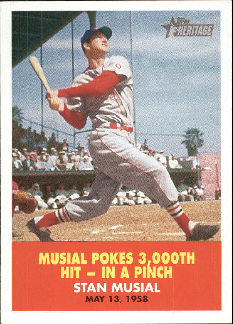 2007 Topps Heritage Flashbacks #FB5 Stan Musial