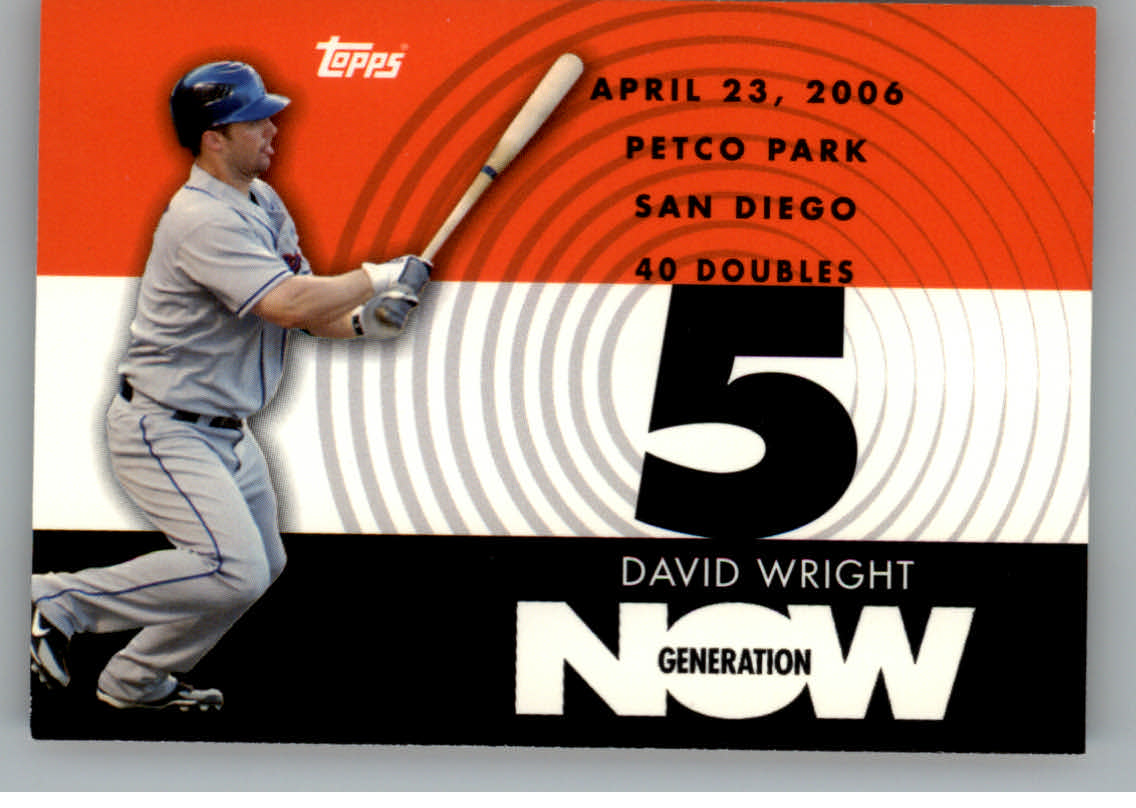 2007 Topps Generation Now #GN151 David Wright