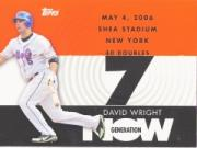 2007 Topps Generation Now #GN153 David Wright