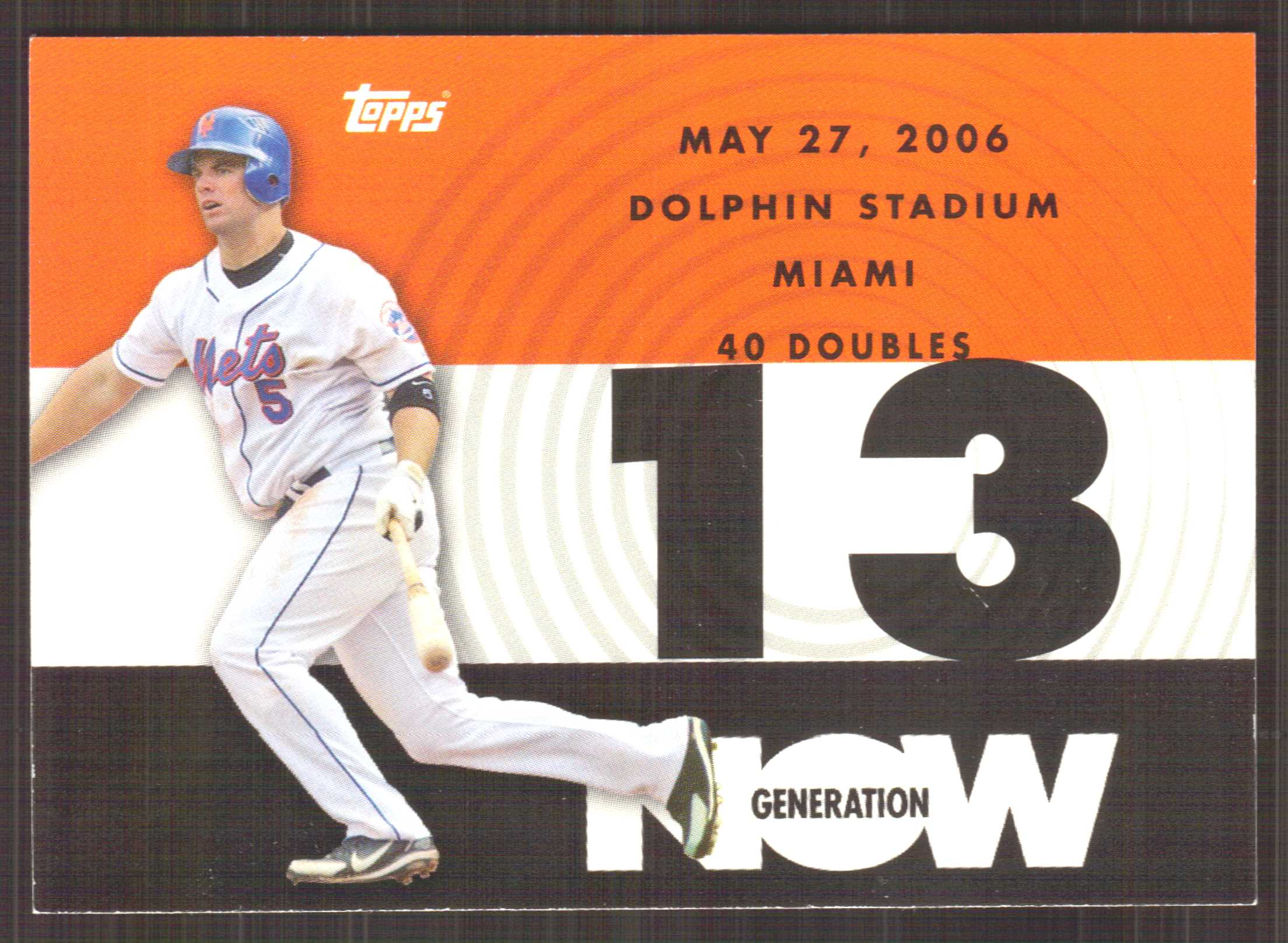 2007 Topps Generation Now #GN159 David Wright
