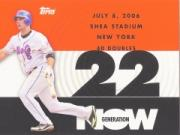 2007 Topps Generation Now #GN168 David Wright