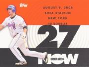 2007 Topps Generation Now #GN173 David Wright