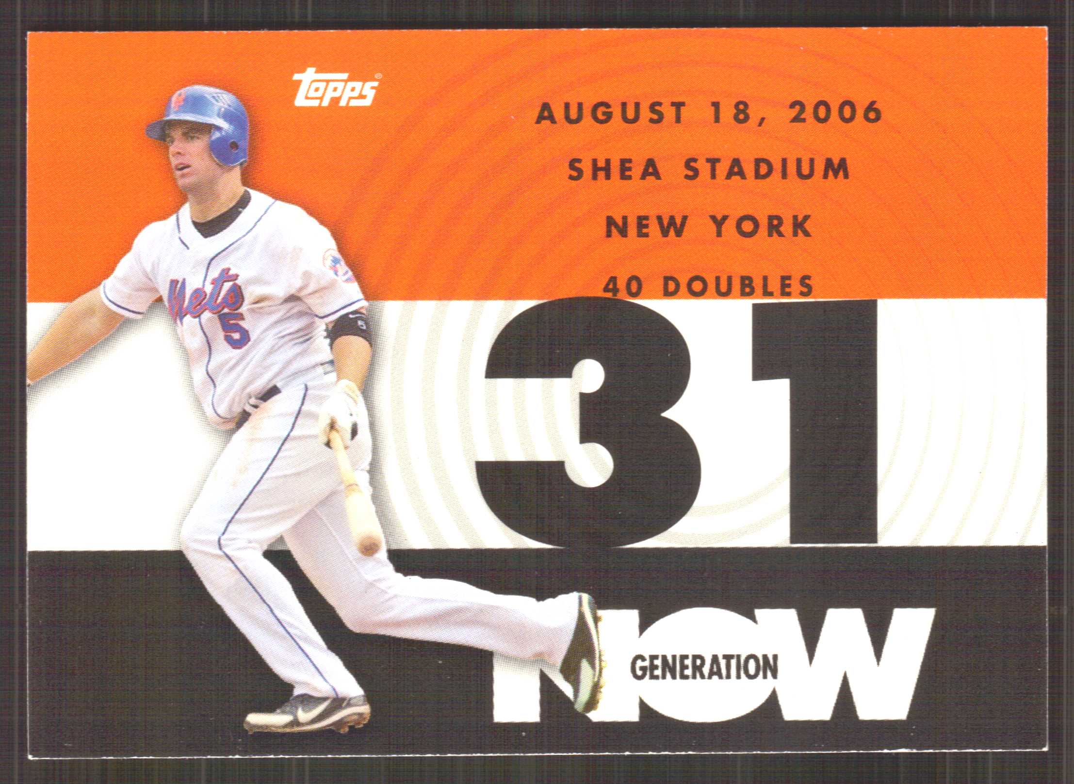 2007 Topps Generation Now #GN177 David Wright