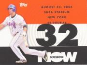 2007 Topps Generation Now #GN178 David Wright