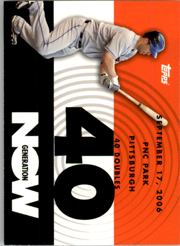 2007 Topps Generation Now #GN186 David Wright