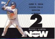 2007 Topps Generation Now #GN280 Russell Martin