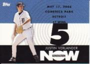 2007 Topps Generation Now #GN287 Justin Verlander