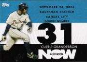 2007 Topps Generation Now #GN550 Curtis Granderson