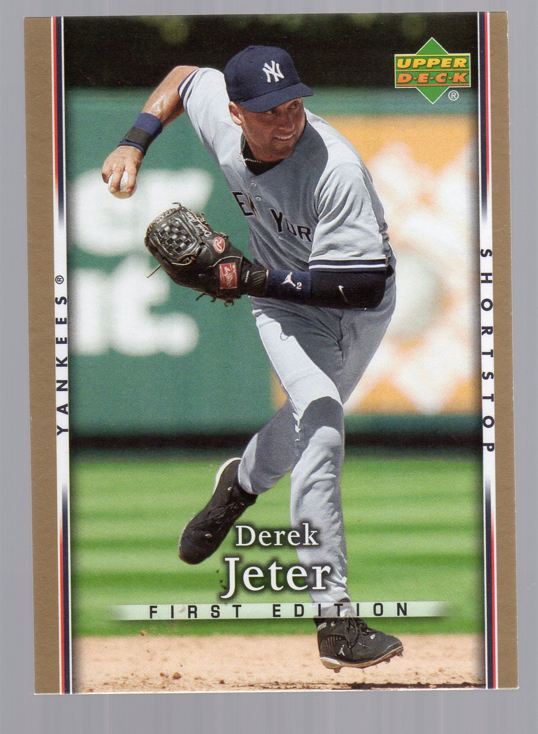 2007 Upper Deck First Edition #118 Derek Jeter