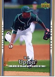 2007 Upper Deck First Edition #144 B.J. Upton