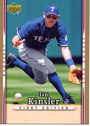2007 Upper Deck First Edition #152 Ian Kinsler
