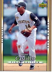 2007 Upper Deck First Edition #261 Jose Castillo