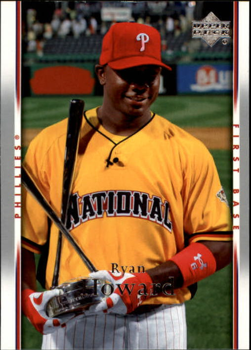 2007 Upper Deck #387 Ryan Howard