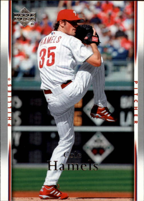 2007 Upper Deck #395 Cole Hamels