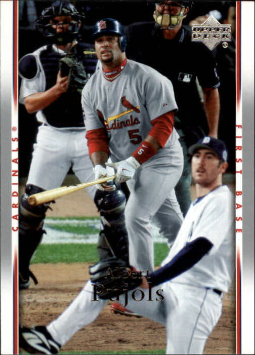 2007 Upper Deck #443 Albert Pujols
