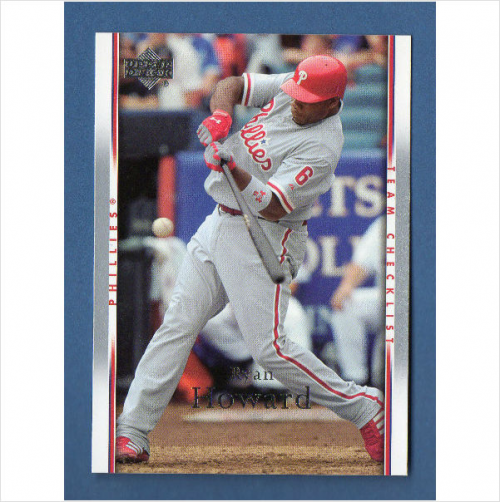 2007 Upper Deck #495 Ryan Howard CL