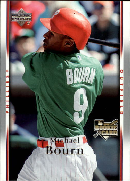 2007 Upper Deck #880 Michael Bourn (RC) front image